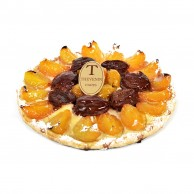 Tarte abricot / pistache